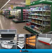 оборудование б/у морозильные-холодильные лари стеллажи