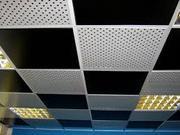 Звукопоглощающие потолки подвесные алюминиевые.