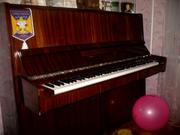 Продам пианино коричневый цвет